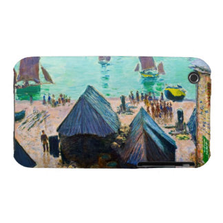 The Departure of the Boats, Etretat Claude Monet iPhone 3 Cases