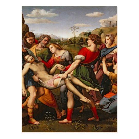The Deposition, 1507 Postcard