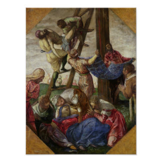The Descent from the Cross, c.1560-65 Poster