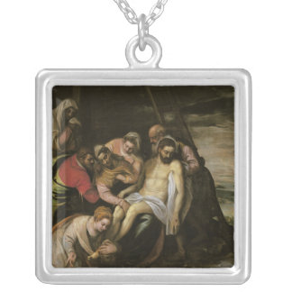 The Descent from the Cross Silver Plated Necklace