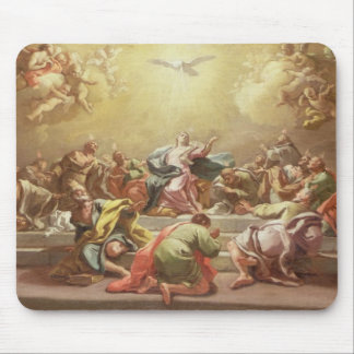The Descent of the Holy Spirit Mouse Pad
