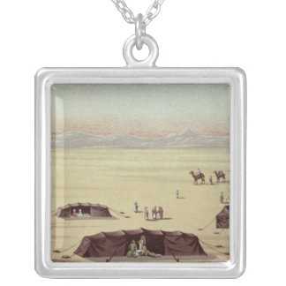 The Desert Camp of Sir Richard Burton Silver Plated Necklace