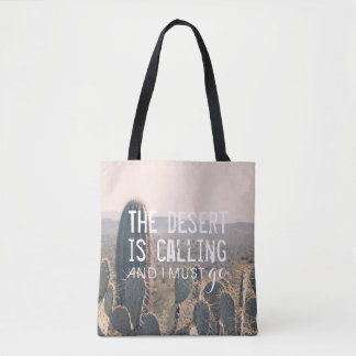The Desert is Calling - Arizona Cacti | Tote Bag