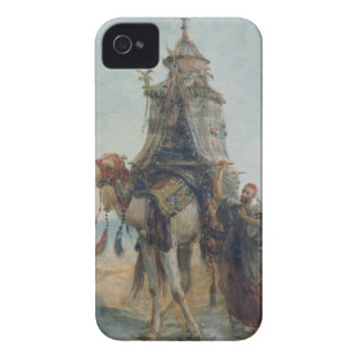 The Desert Ride, 1839 (w/c on paper) iPhone 4 Case-Mate Cases