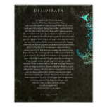 The Desiderata Poem by Max Ehrmann Chalk Art Poster
