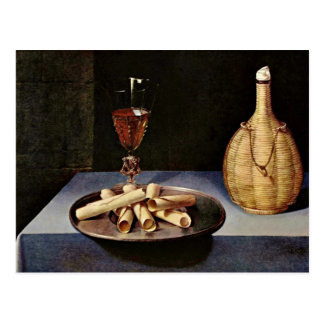 The Dessert,  By Baugin Lubin (Best Quality) Postcard