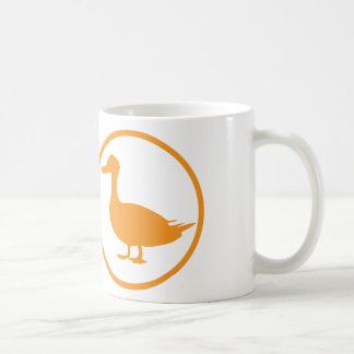 "The ""destroyer of quackery""-badge classic white coffee mug"