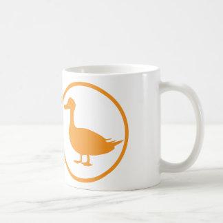 "The ""destroyer of quackery""-badge classic white coffee mug"
