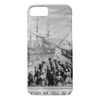 The Destruction of Tea at Boston Harbor_War Image iPhone 7 Case