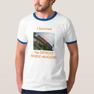 The Detroit People Mugger! T-Shirt