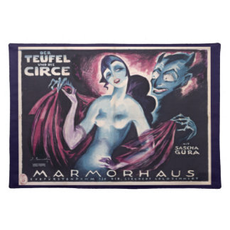 The Devil and Circe Cloth Placemat