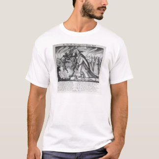 The Devil leading the Pope in Chains, 1680 T-Shirt