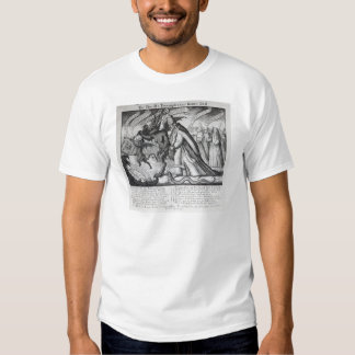 The Devil leading the Pope in Chains, 1680 Tee Shirts