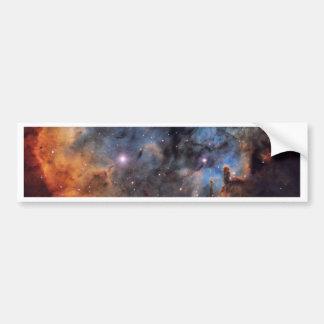 The Devil Nebula Bumper Sticker