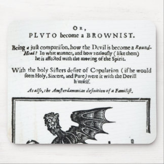 The Devil turn'd Round-Head', c.1642 Mouse Mat