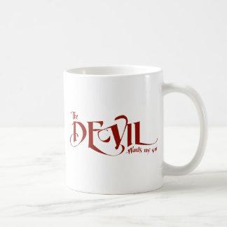 The devil wants my soul coffee mug