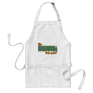 The Devil wants my soul Standard Apron