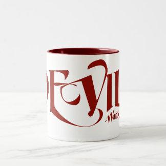 The devil wants my soul Two-Tone coffee mug