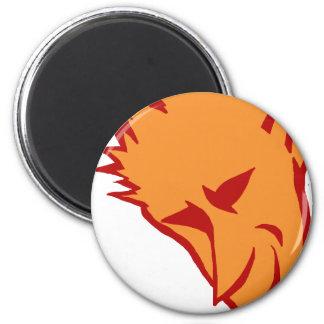 The Devilish Elf 6 Cm Round Magnet