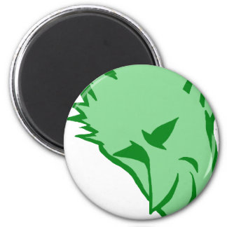 The Devilish Green Elf Fridge Magnet