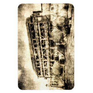 The Dickens Inn Pub London Vintage Rectangular Photo Magnet