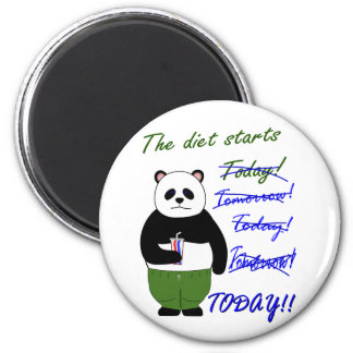 The diet starts… refrigerator magnets