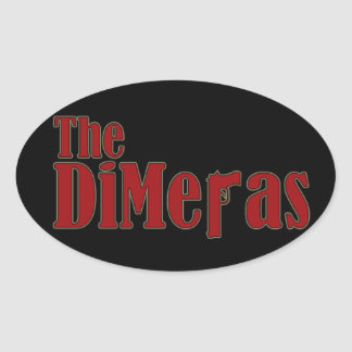 """The DiMeras"" Stickers (Oval)"