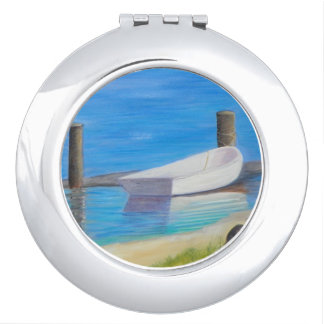 THE DINGHY Round Compact Mirror