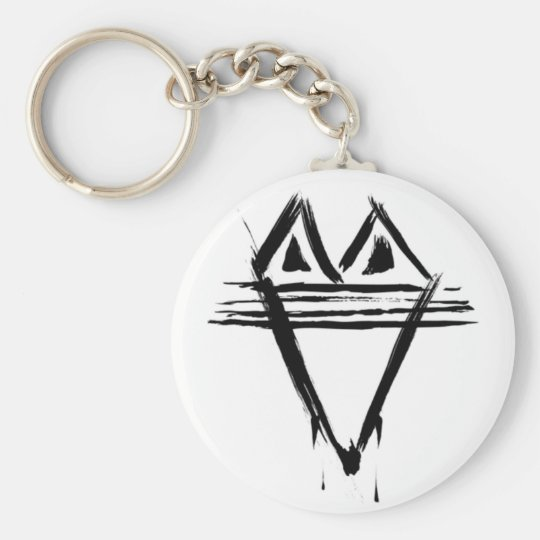 The Dining Dead Logo Keychain
