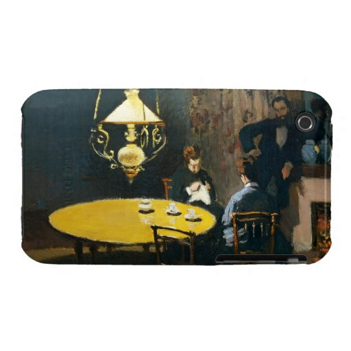 The Dinner, An Interior Claude Monet iPhone 3 Case