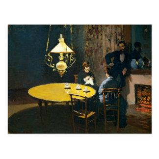 The Dinner, An Interior Claude Monet Postcard