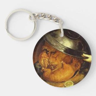 The Dinner by Giuseppe Arcimboldo Acrylic Key Chains