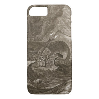 The Dioscuri Protect a Ship, 1731 (engraving) iPhone 8/7 Case