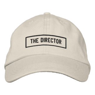 The Director Headline Embroidery Embroidered Hat