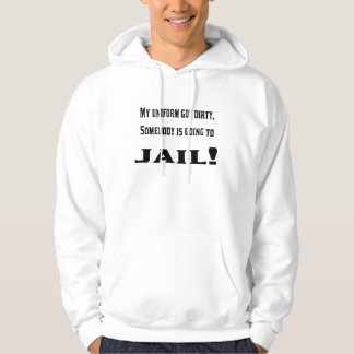 The dirty uniform hooded sweatshirt