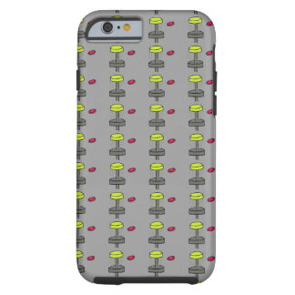 The disc golf basket image Iphone 6, 6S case cover