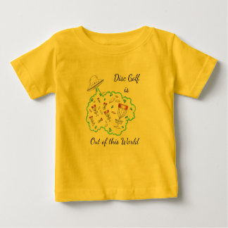 The Disc Golf is Out of this world baby t-shirt