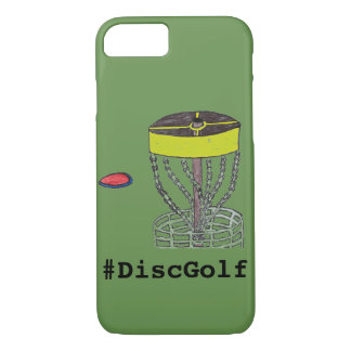 The #DiscGolf Iphone phone case
