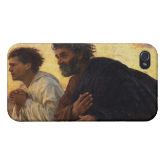 The Disciples Peter and John Running iPhone 4 Case
