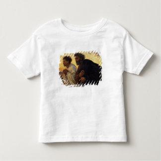 The Disciples Peter and John Running Toddler T-Shirt