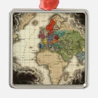 The Discovery of America 1498 AD Christmas Ornament