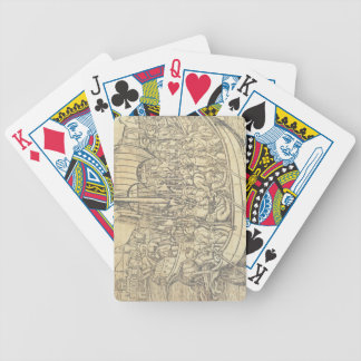 The Discovery of the New World by Chrisopher Colum Bicycle Playing Cards