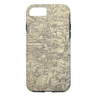 The Discovery of the New World by Chrisopher Colum iPhone 8/7 Case