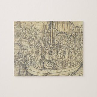 The Discovery of the New World by Chrisopher Colum Jigsaw Puzzle