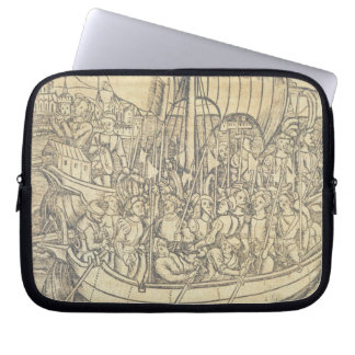 The Discovery of the New World by Chrisopher Colum Laptop Computer Sleeves