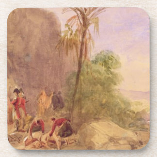 The discovery of Tipu's body at the Water Gate at Beverage Coasters