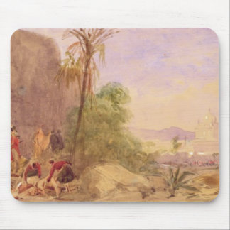 The discovery of Tipu's body at the Water Gate at Mouse Mat