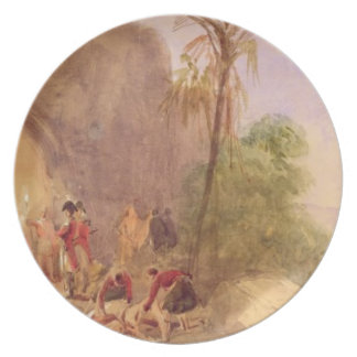 The discovery of Tipu's body at the Water Gate at Plate