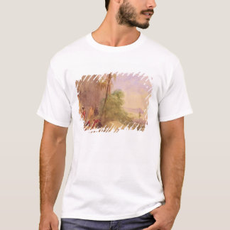 The discovery of Tipu's body at the Water Gate at T-Shirt