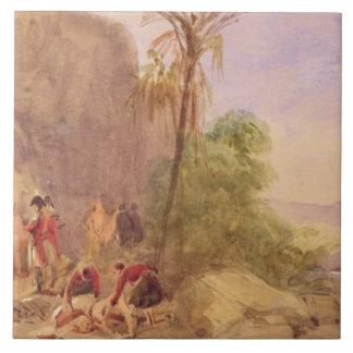 The discovery of Tipu's body at the Water Gate at Tile
